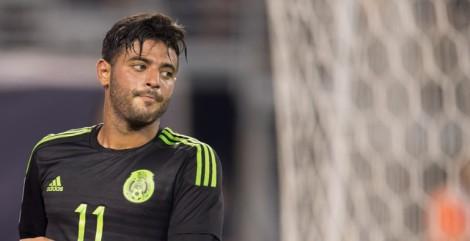 Foto: Copa Oro.- El delantero mexicano Carlos Vela, ha tenido la 'pólvora' mojada.