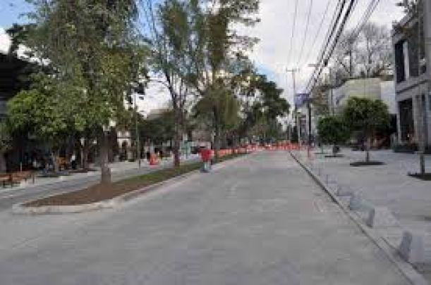 Obras en avenida Masarik