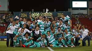 Foto: LigaMX.-  Santos Campeón de Campeones 201